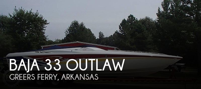 2003 Baja 33 Outlaw