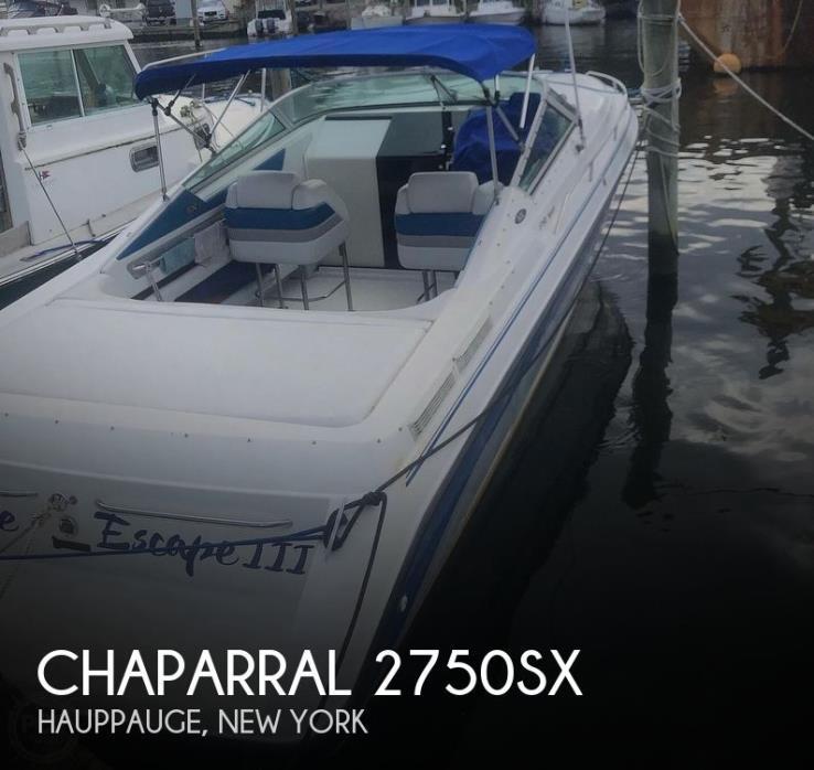 1992 Chaparral 2750SX