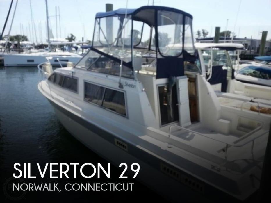1985 Silverton 29 Sport Cruiser