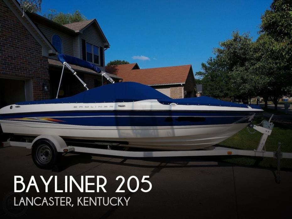 2005 Bayliner 205 Runabout