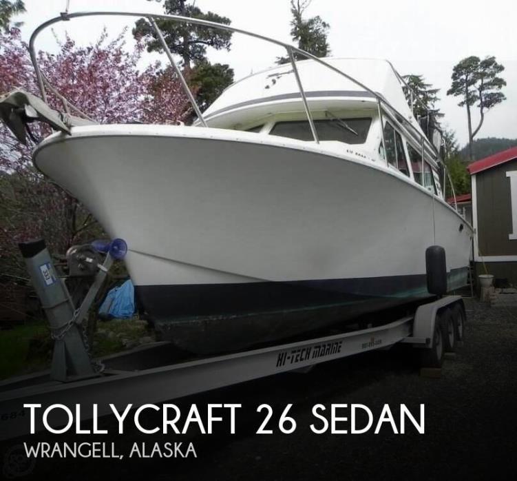 1979 Tollycraft 26 Sedan