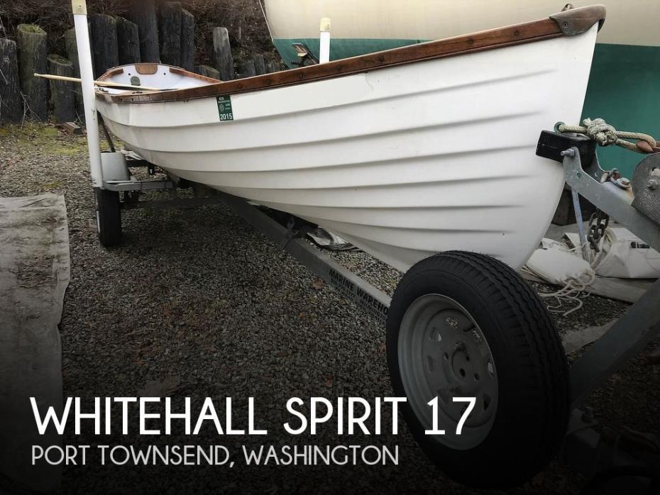 1999 Whitehall Spirit 17