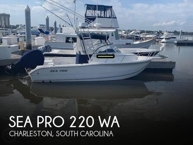 2006 Sea Pro 220 WA