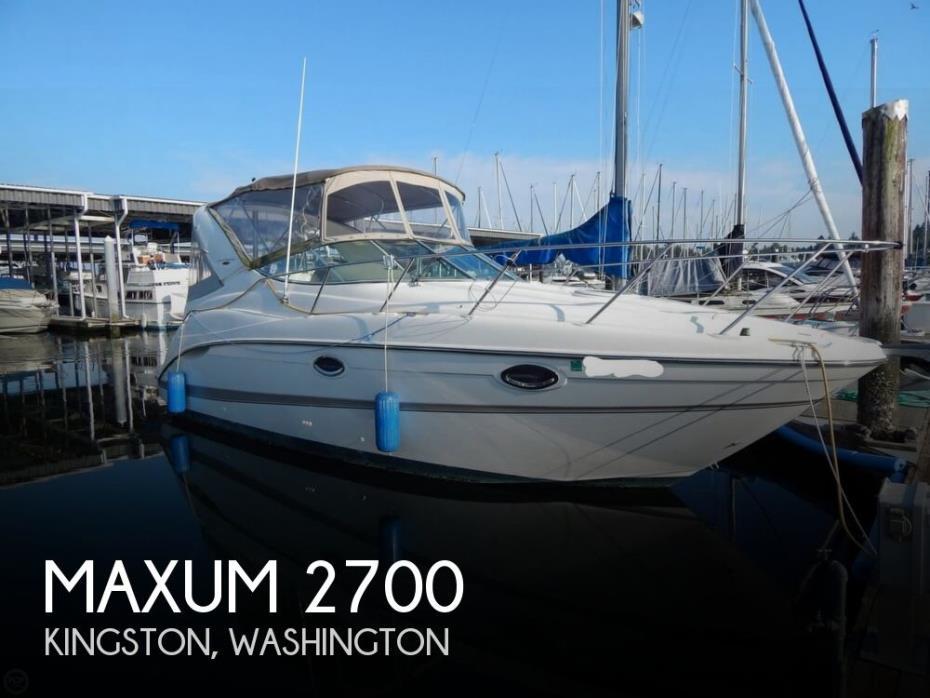 2002 Maxum 2700 SCR