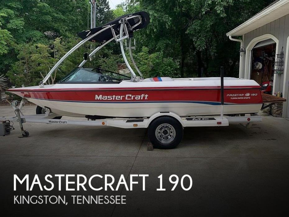 1993 Mastercraft Pro Star 190