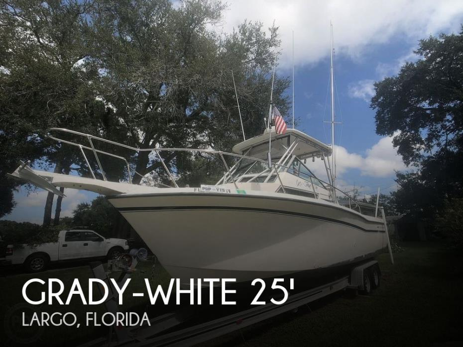 1991 Grady-White Sailfish 25 Sport Bridge