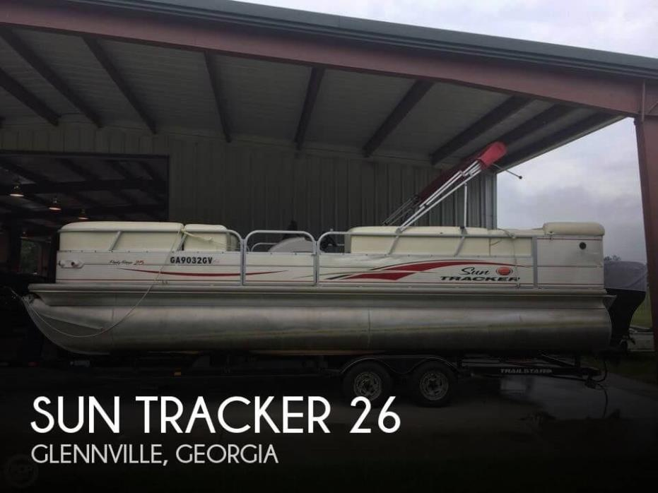 2005 Sun Tracker 25 Party Barge