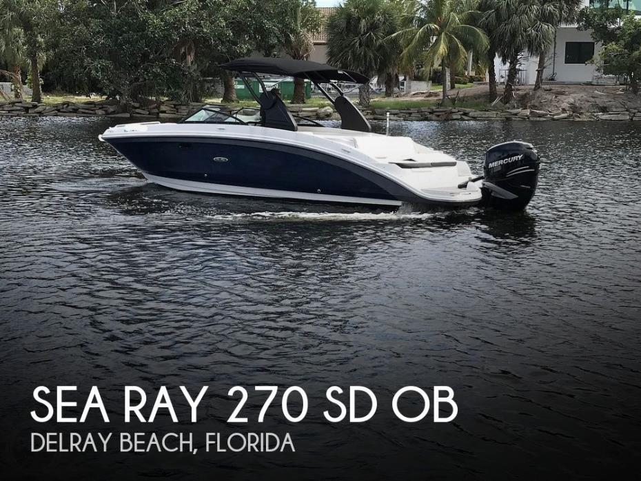 2019 Sea Ray 270 SD OB
