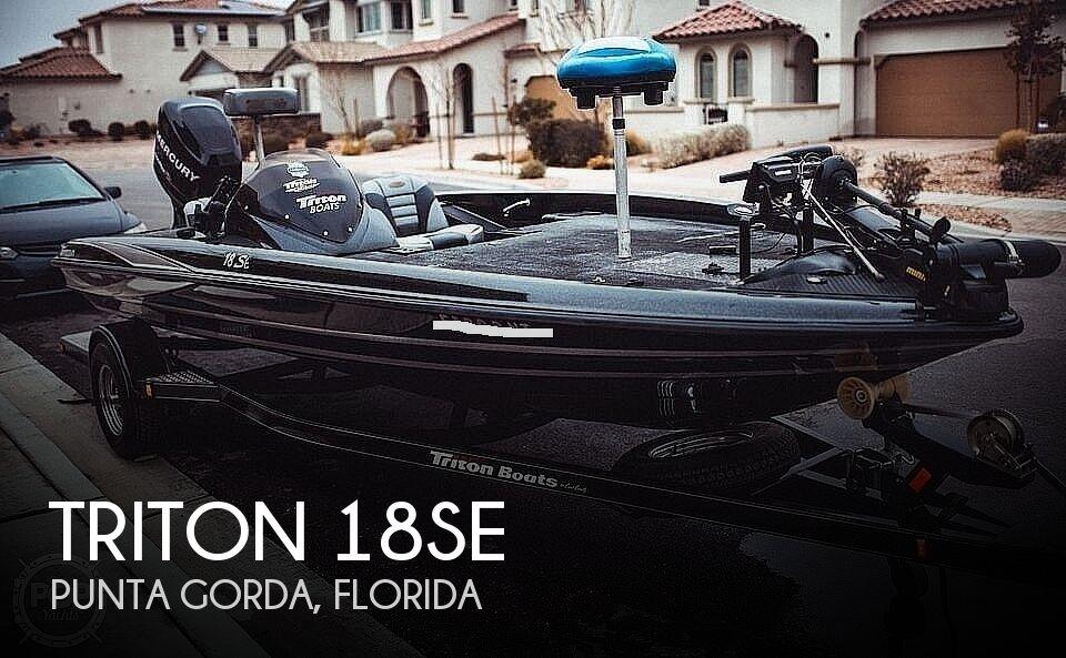 2013 Triton 18SE