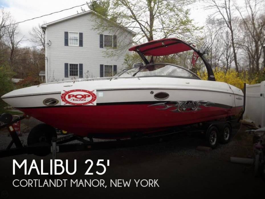 2005 Malibu 25 Sunscape LSV w/ Wakesetter Package