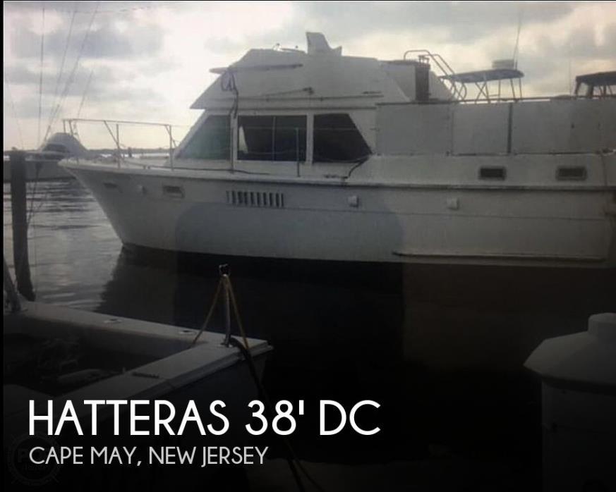 1974 Hatteras 38 DC