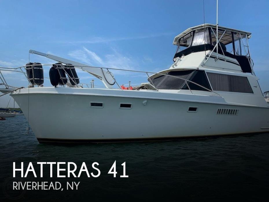 1969 Hatteras 41