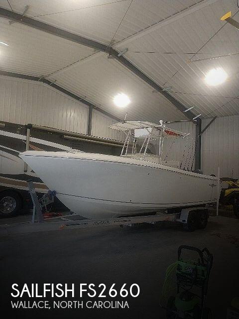 2006 Sailfish FS2660