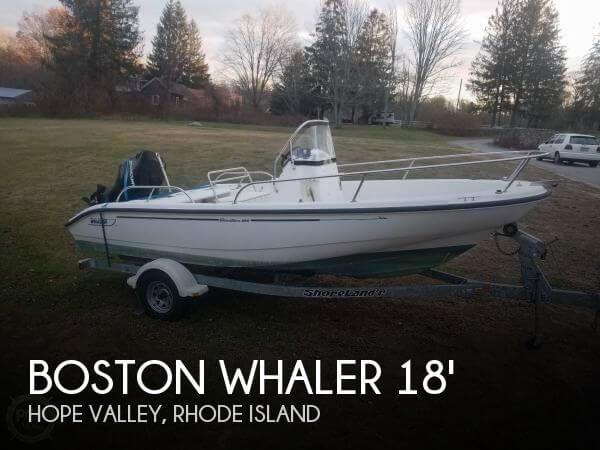 2002 Boston Whaler Dauntless 180