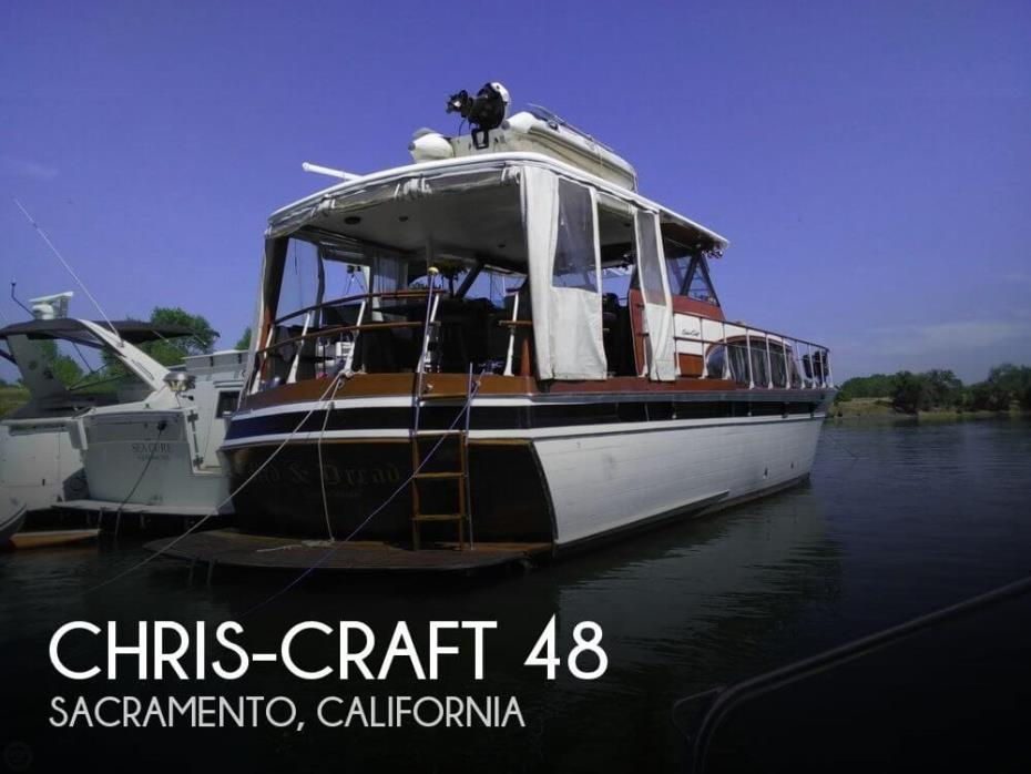 1958 Chris-Craft Constellation Bull Nose 48
