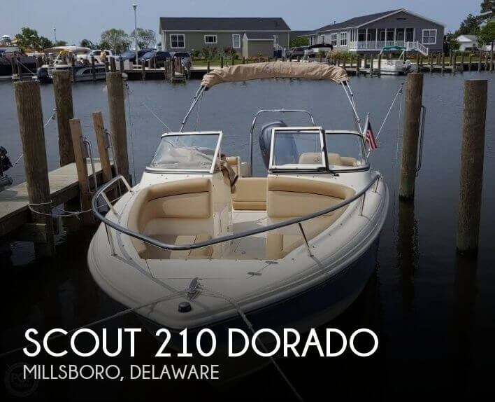 2015 Scout 210 Dorado