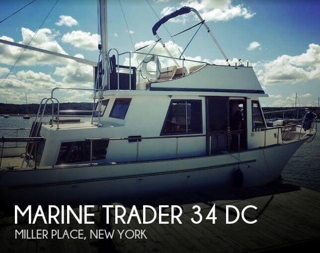 1982 Marine Trader 34 DC
