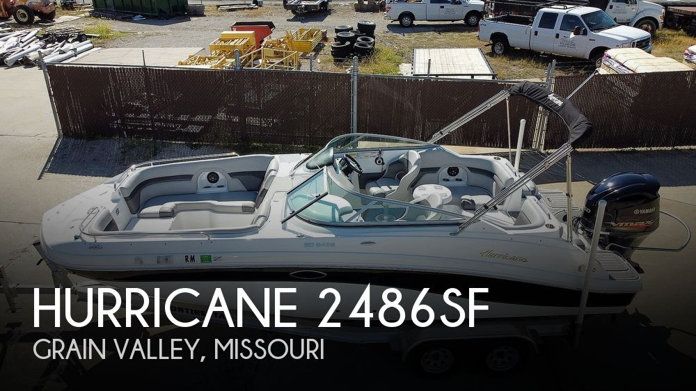 2018 Hurricane 2486SF