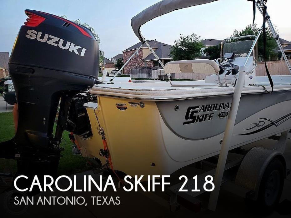 2016 Carolina Skiff 218