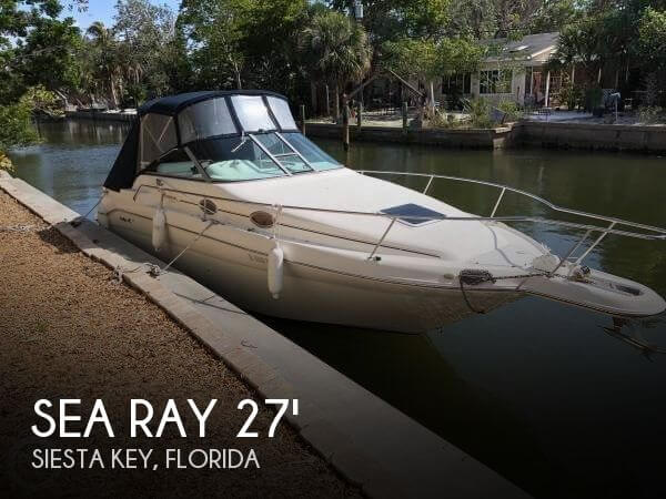 1998 Sea Ray 270 Sundancer SE