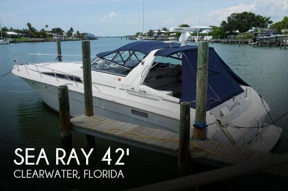 1991 Sea Ray 420 Sundancer