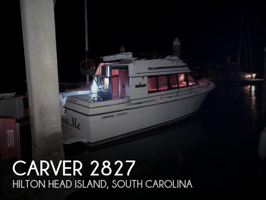 1986 Carver Carver 2827 Voyager