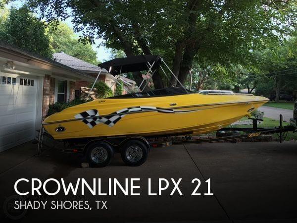2002 Crownline LPX 21