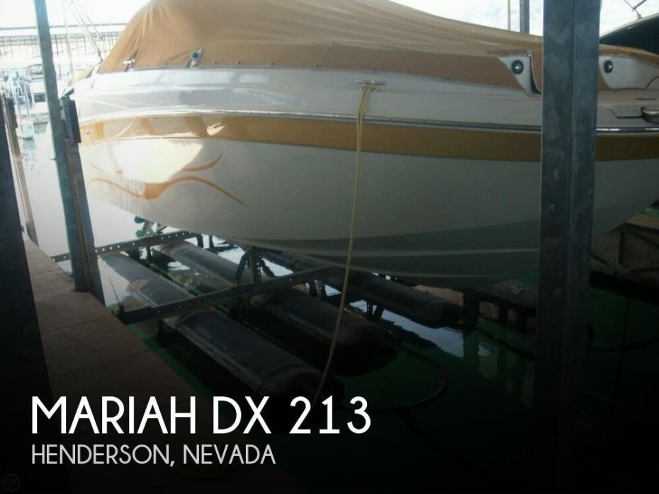 2006 Mariah DX 213