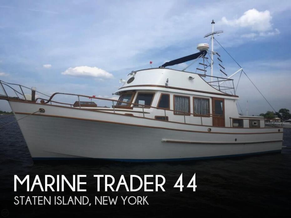 1978 Marine Trader 44