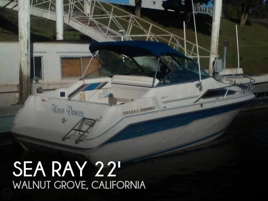 1991 Sea Ray 220 DA Sundancer