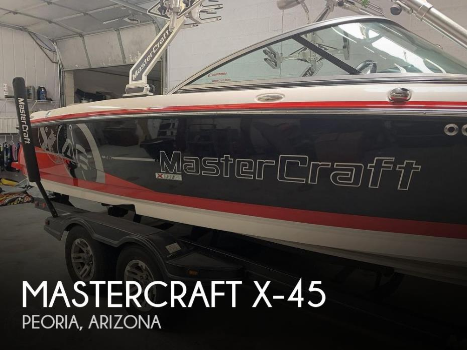 2010 Mastercraft X-45