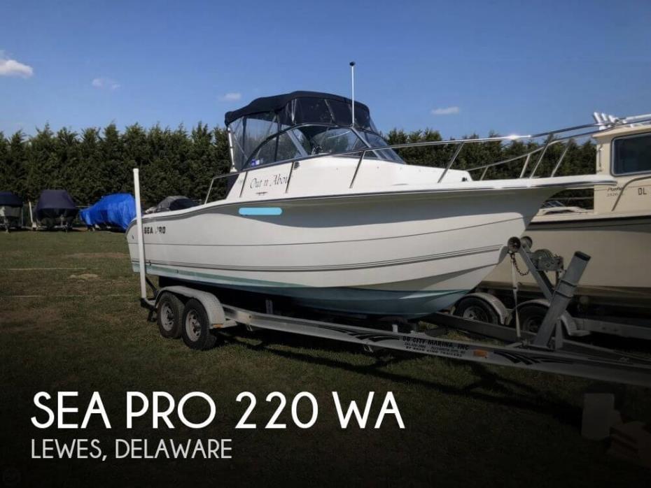 2005 Sea Pro 220 WA