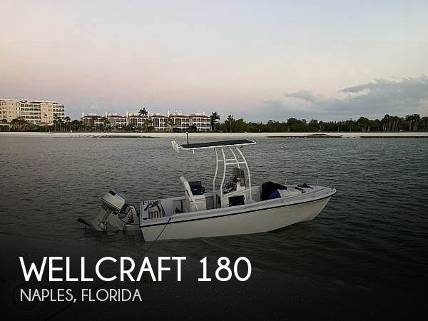 1986 Wellcraft 180 Fisherman