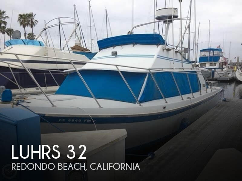 1973 Luhrs 320 Flybridge Cruiser