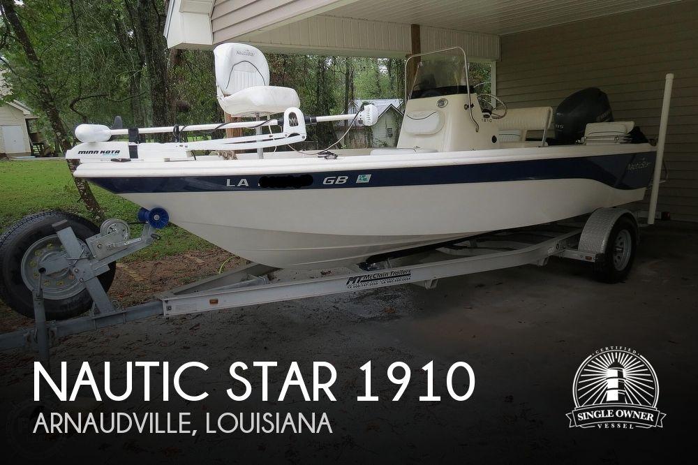 2013 Nautic Star 1910 Bay