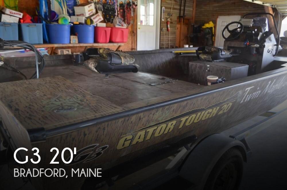 2017 G3 Gator Tough 20 CCJ DLX