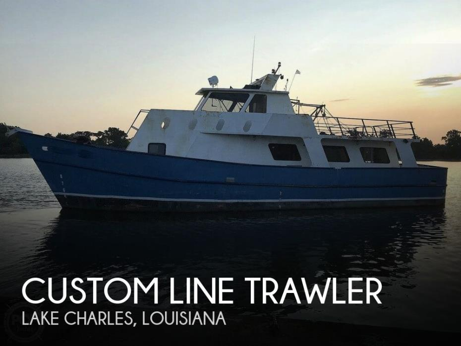 2007 Custom Line Trawler 62 Long Range Cruiser