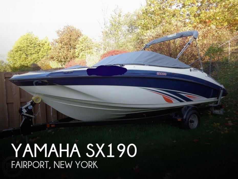 2016 Yamaha SX190
