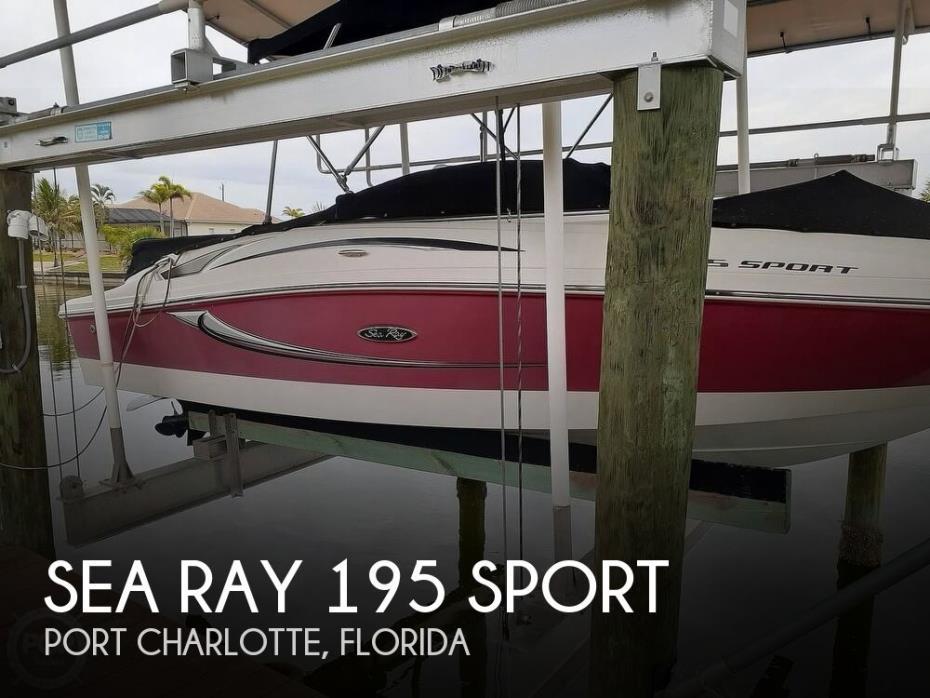 2011 Sea Ray 195 Sport