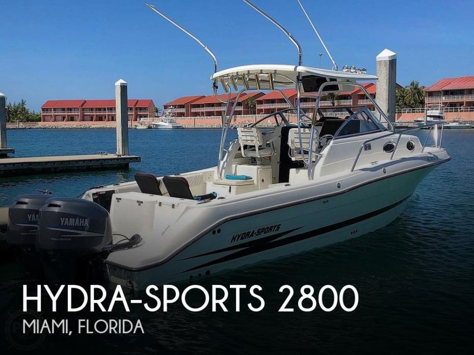 2002 Hydra-Sports 2800 WA Vector