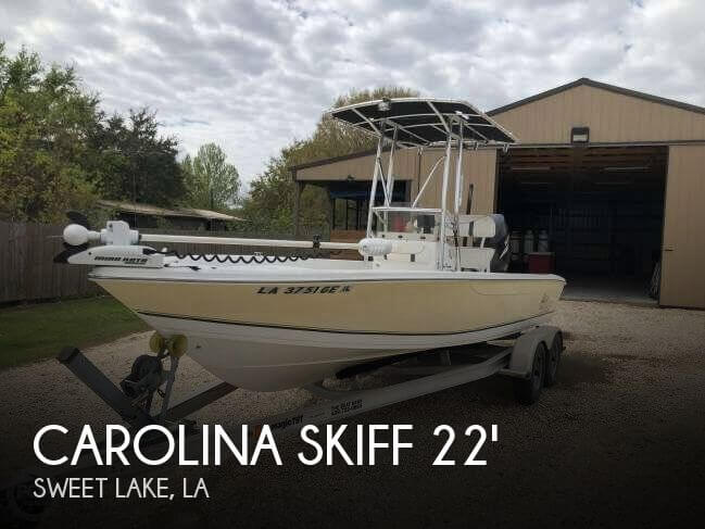 2008 Carolina Skiff Sea Chaser 22