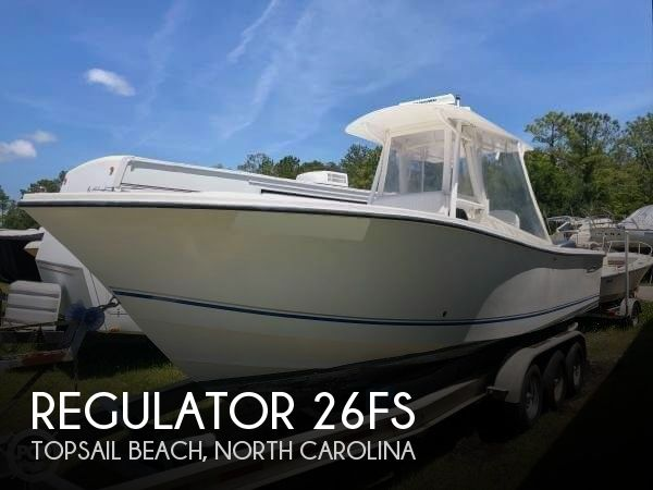 2001 Regulator Marine 26FS