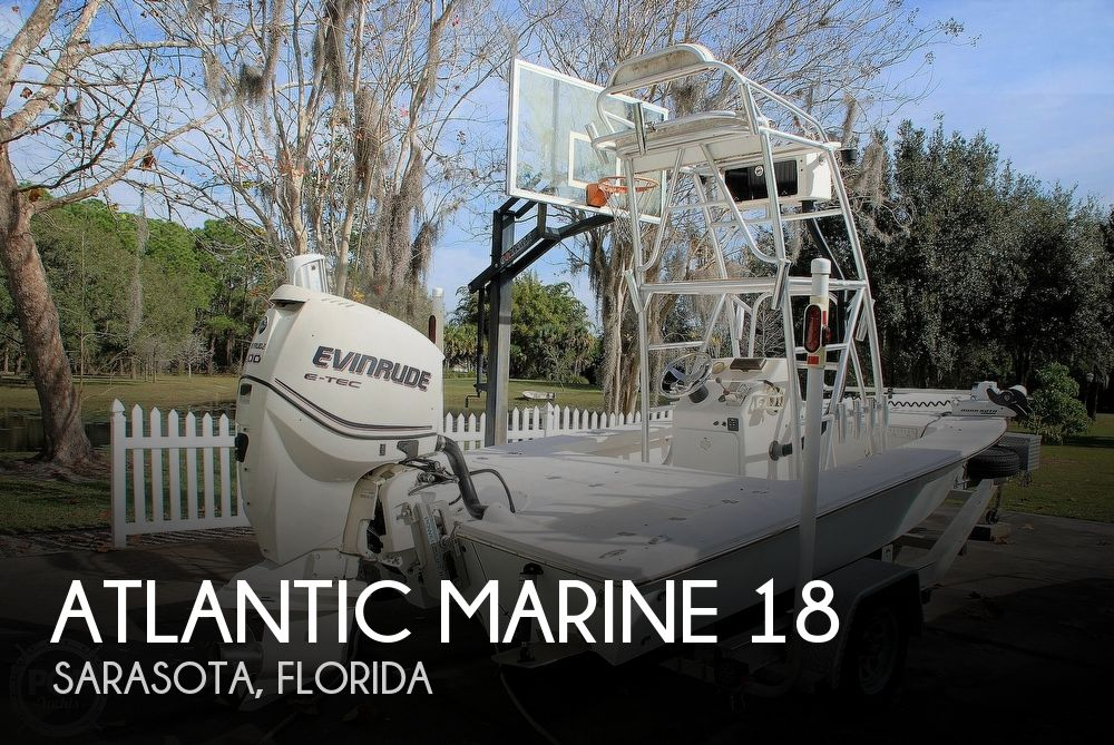 2008 Atlantic Marine 18 Flats Boat