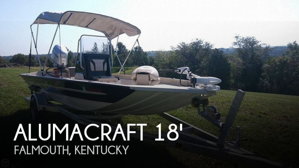 2017 Alumacraft MV 1860 AW