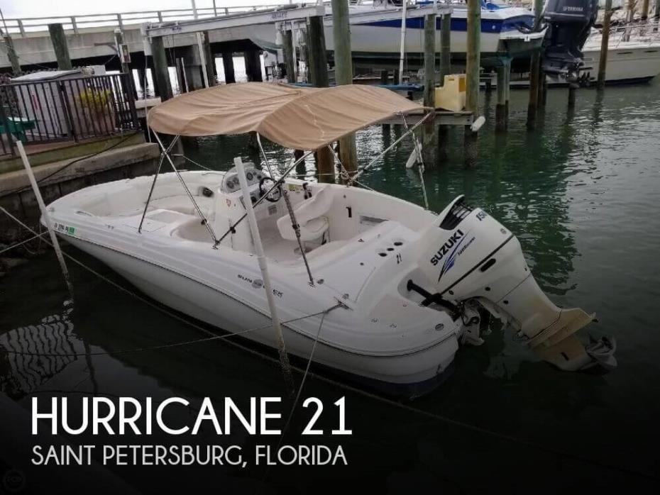2013 Hurricane 203 Sun Deck Sport