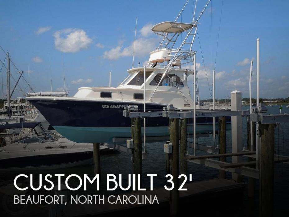 2008 Custom Built 32ft Diesel Sport fisherman