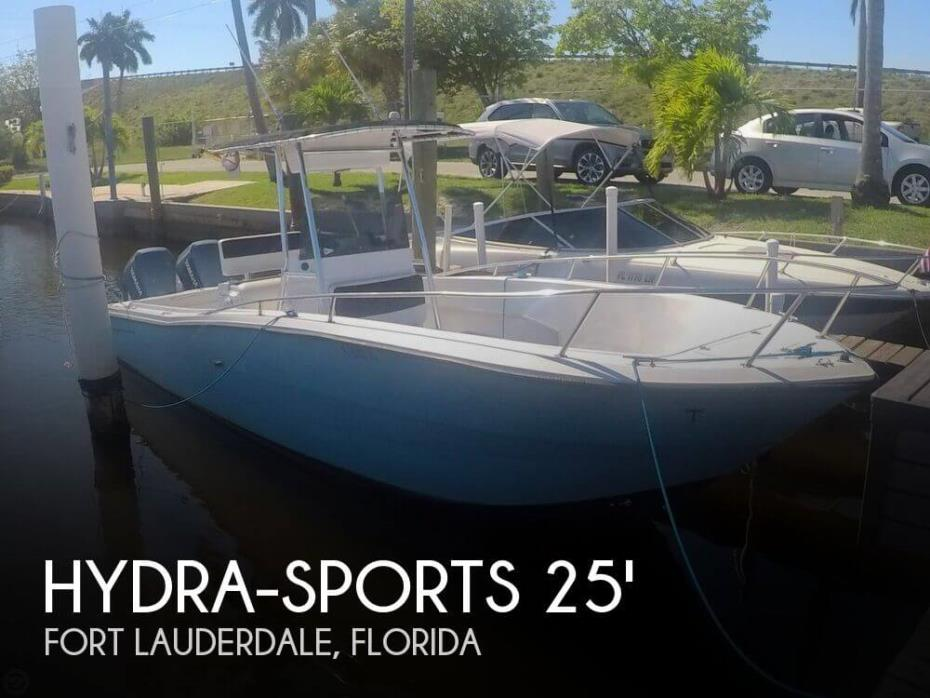 1989 Hydra-Sports 2500 CC