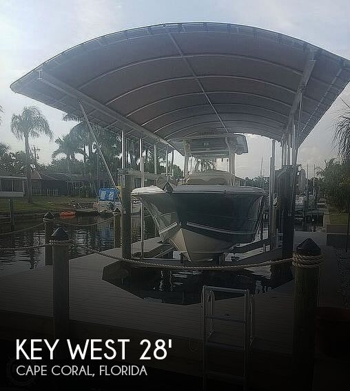 2016 Key West Billistic 281 Center Console
