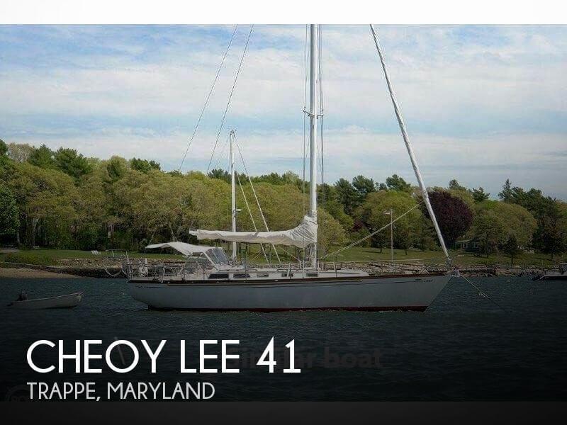 1986 Cheoy Lee 41