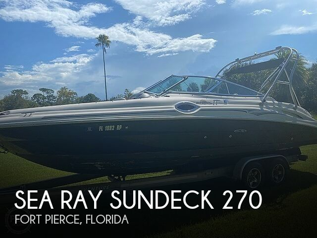 2006 Sea Ray 270 Sundeck